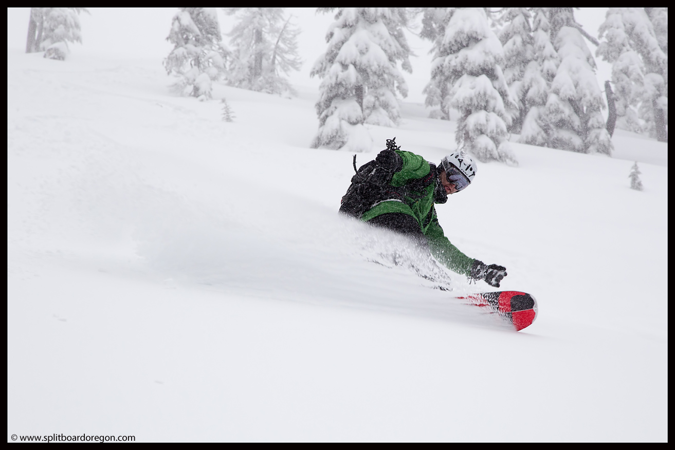 Powder turns off Peak 2!