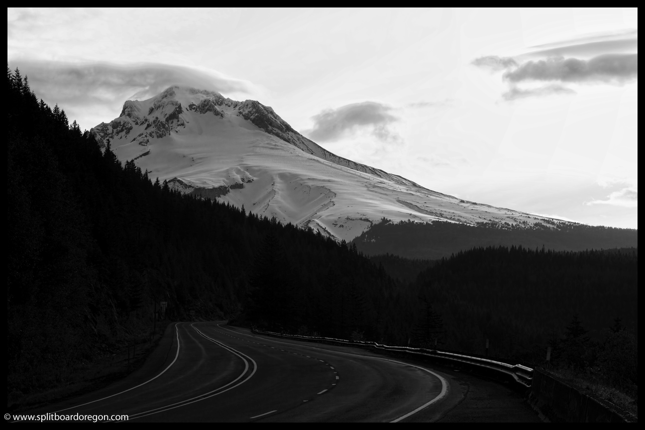 Mt Hood from Highway 26