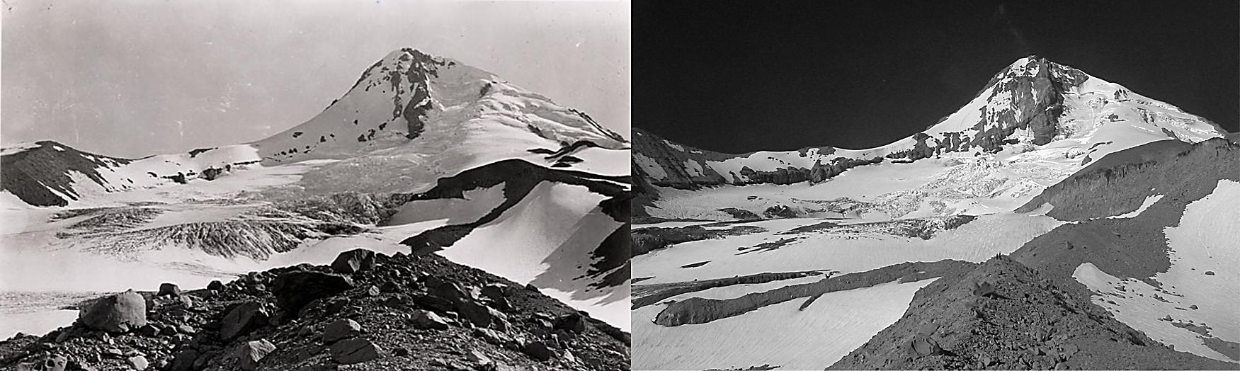 Eliot Glacier 1901/2006