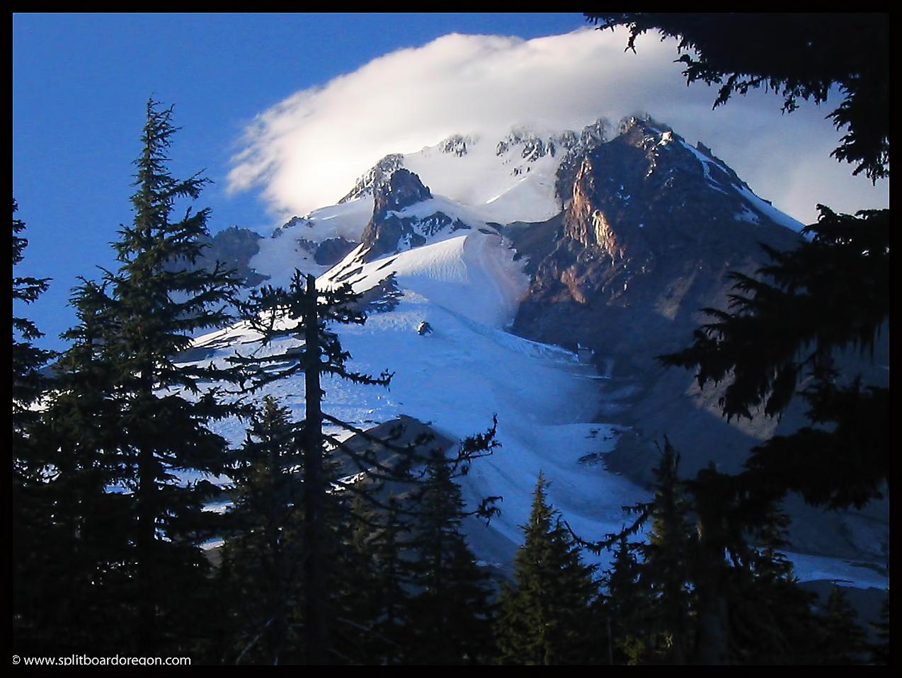 White River Glacier - July 2007 - Photo by Todd Singleton