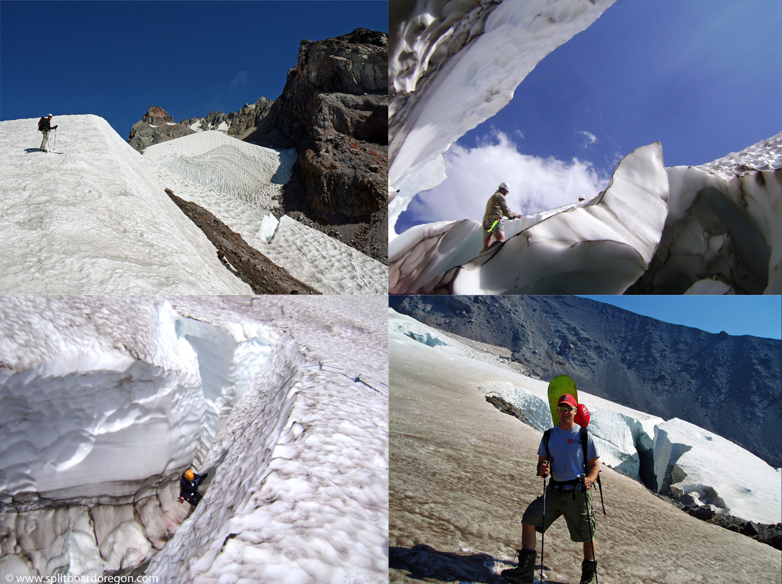 Various shots on the White River Glacier