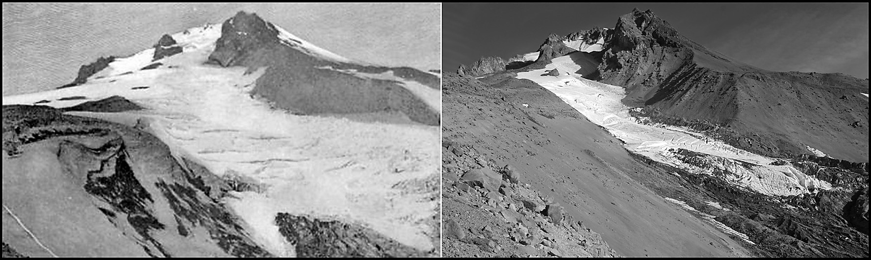 White River Glacier 1902/2010