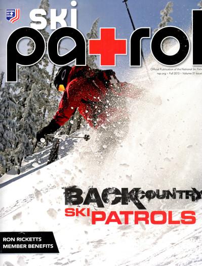 Ski Patrol Magazine Cover