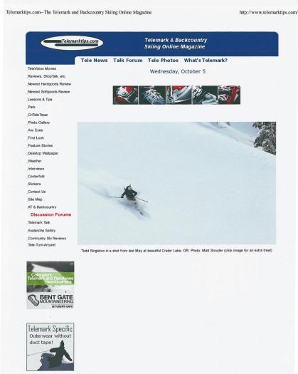 October 2011 - Telemarktips