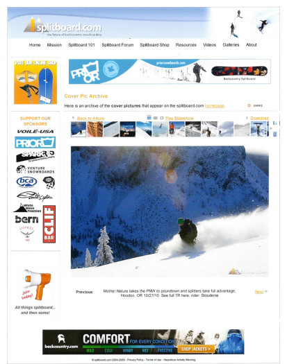 October 2010 - Splitboard.com