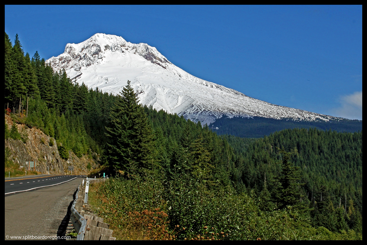Mt Hood from Hwy 26