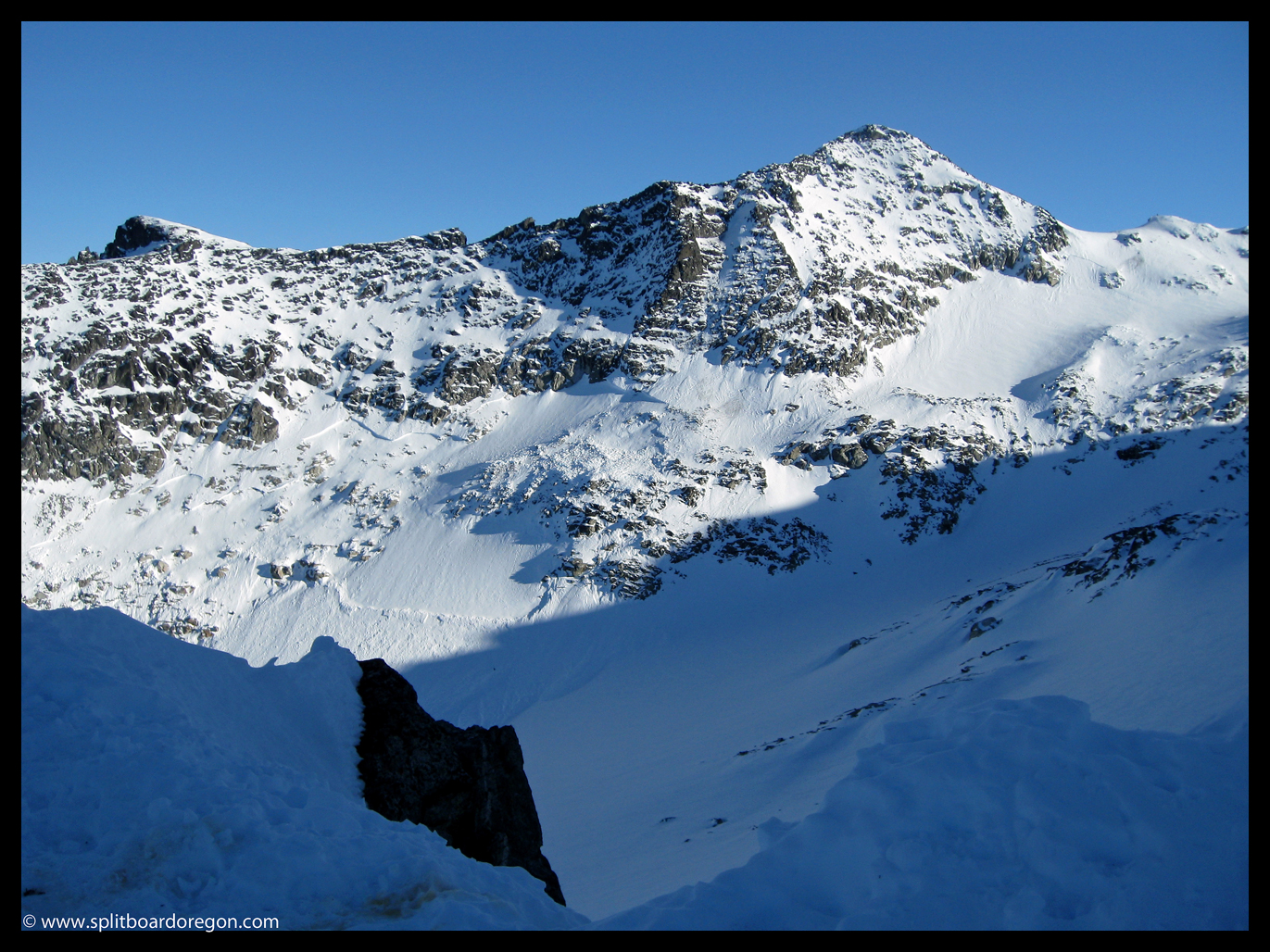 Looking across the Blackcomb Glacier