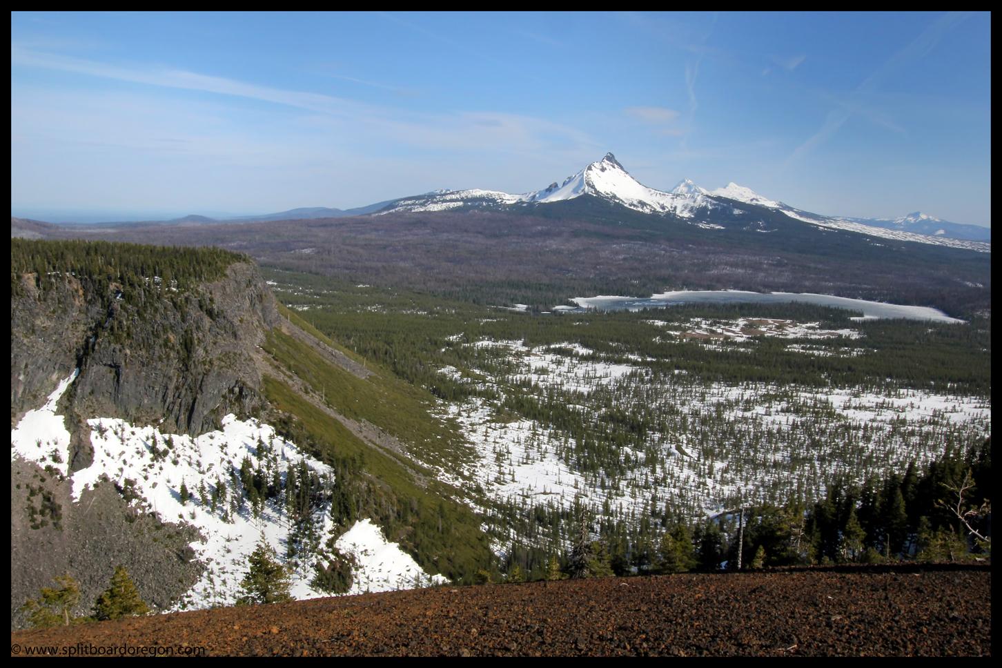Mt Washington and Big Lake