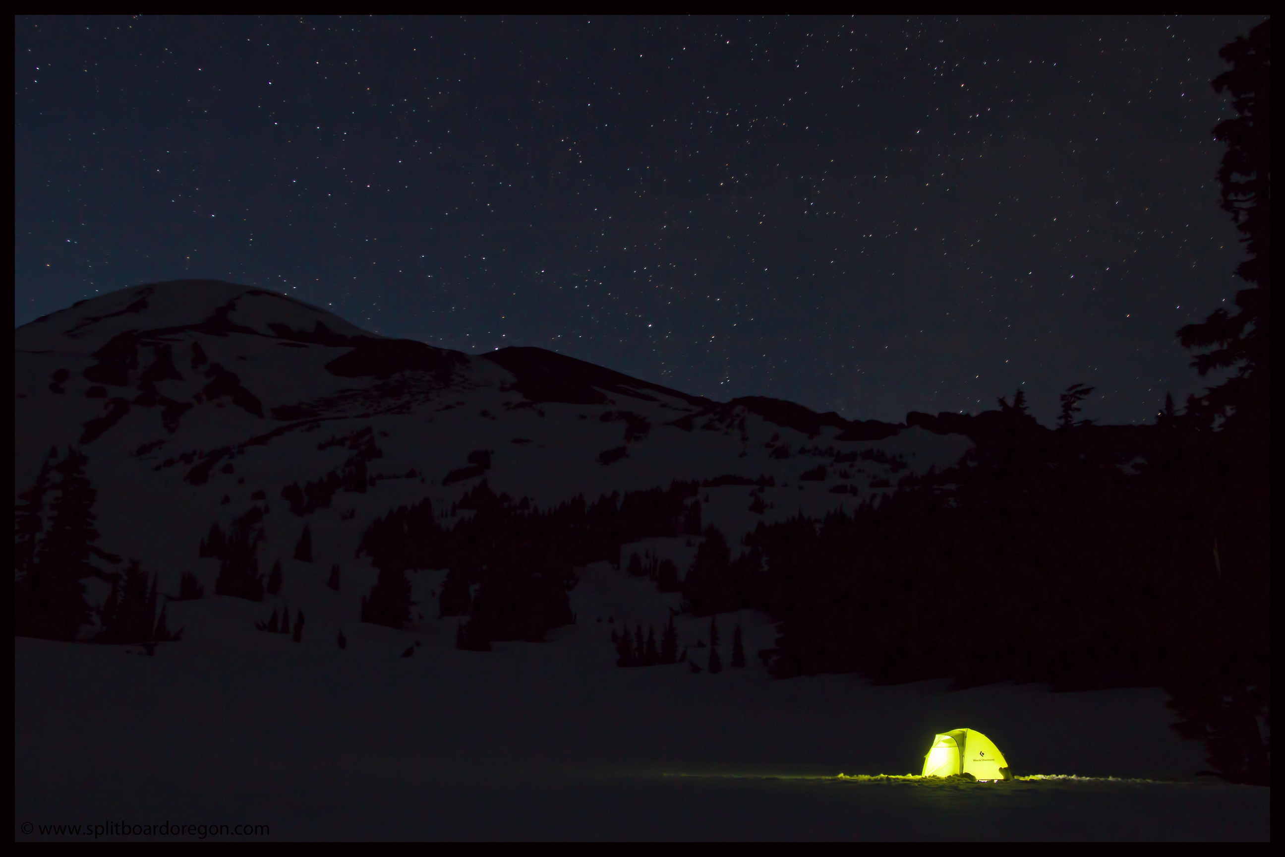 Camp on South Sister