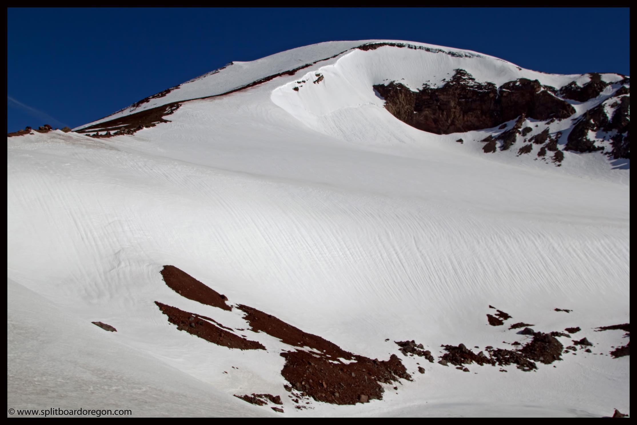 The Lewis Glacier