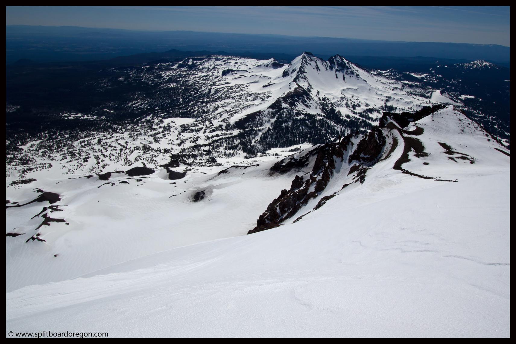 Prouty Glacier & Broken Top