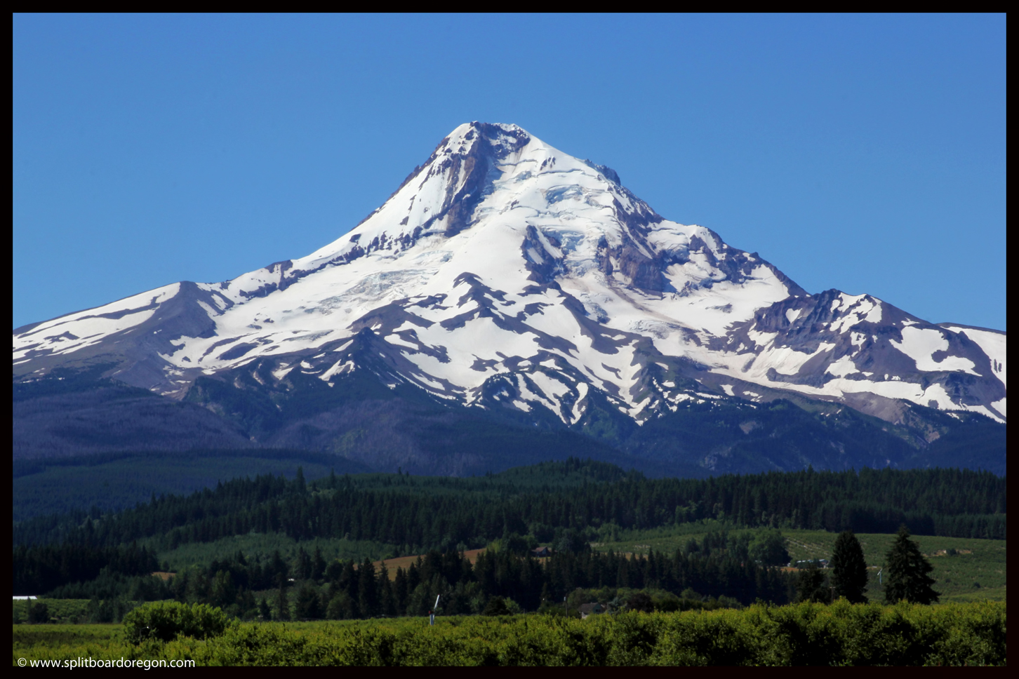 Mt Hood's northside