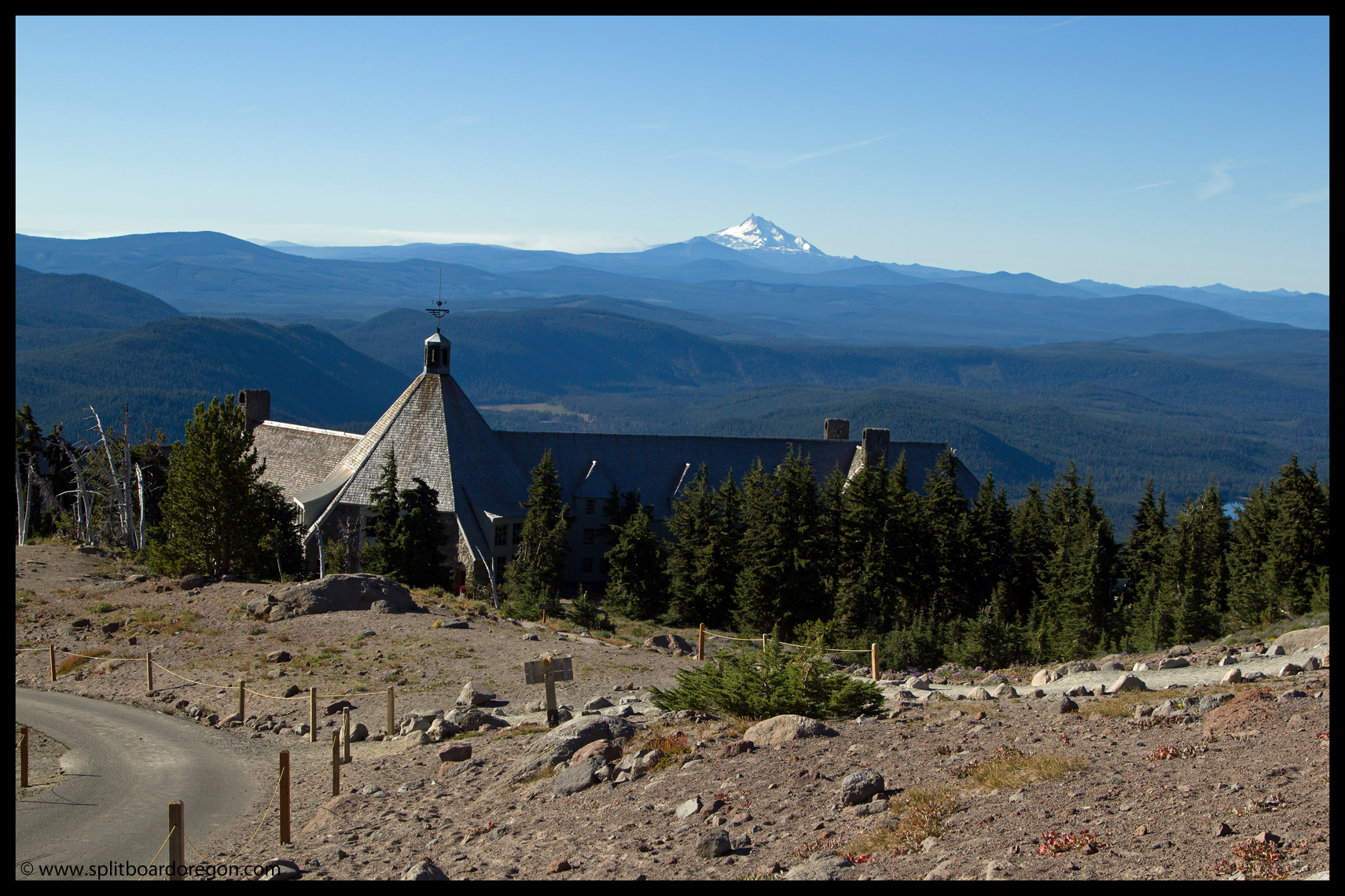 Timberline Lodge & Mt Jefferson