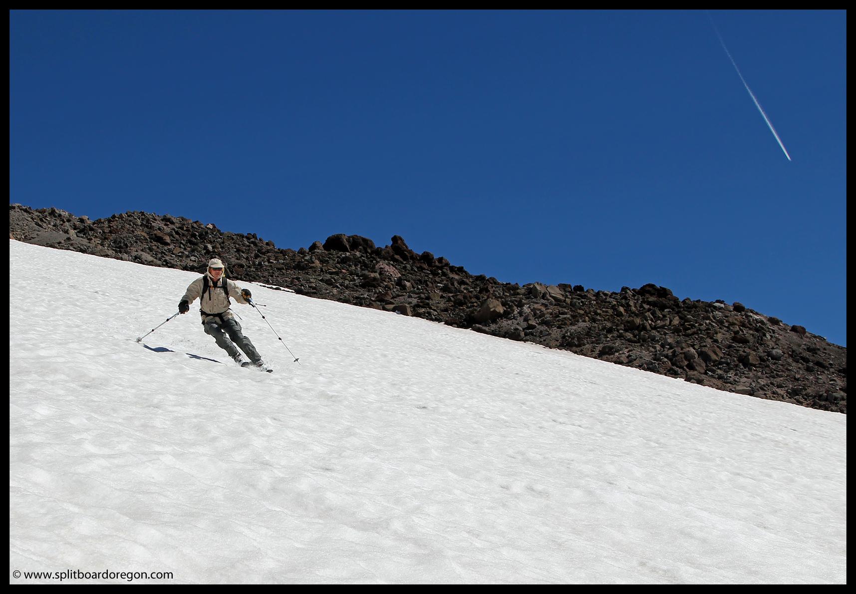 September ski turns
