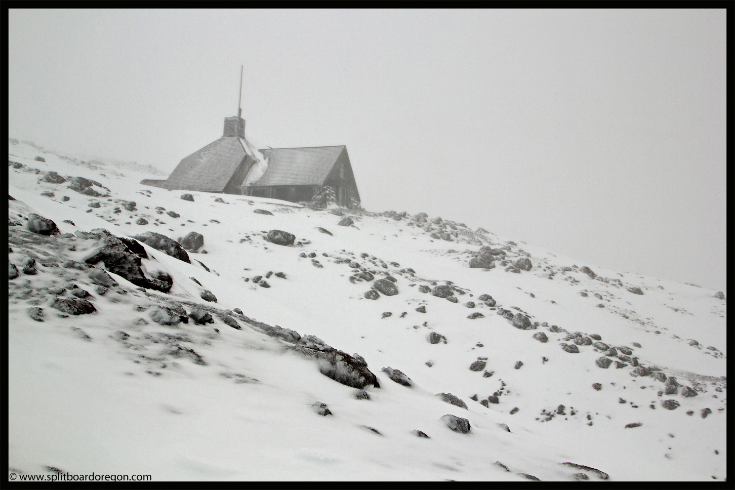 Silcox hut on Mt Hood