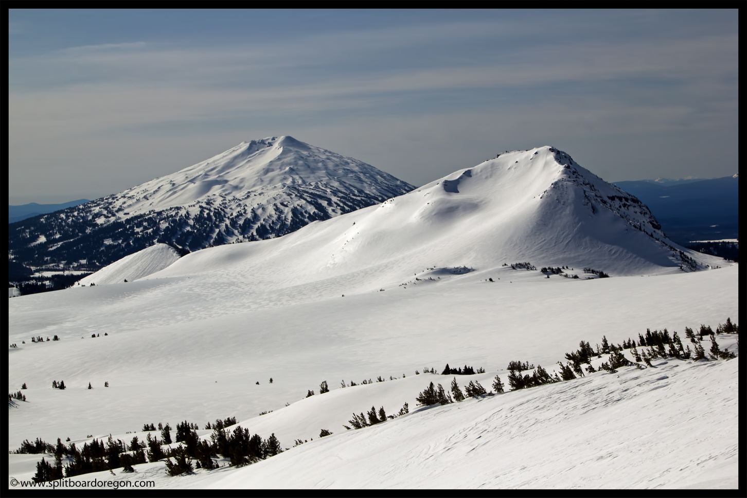 Mt Bachelor and Ball Butte