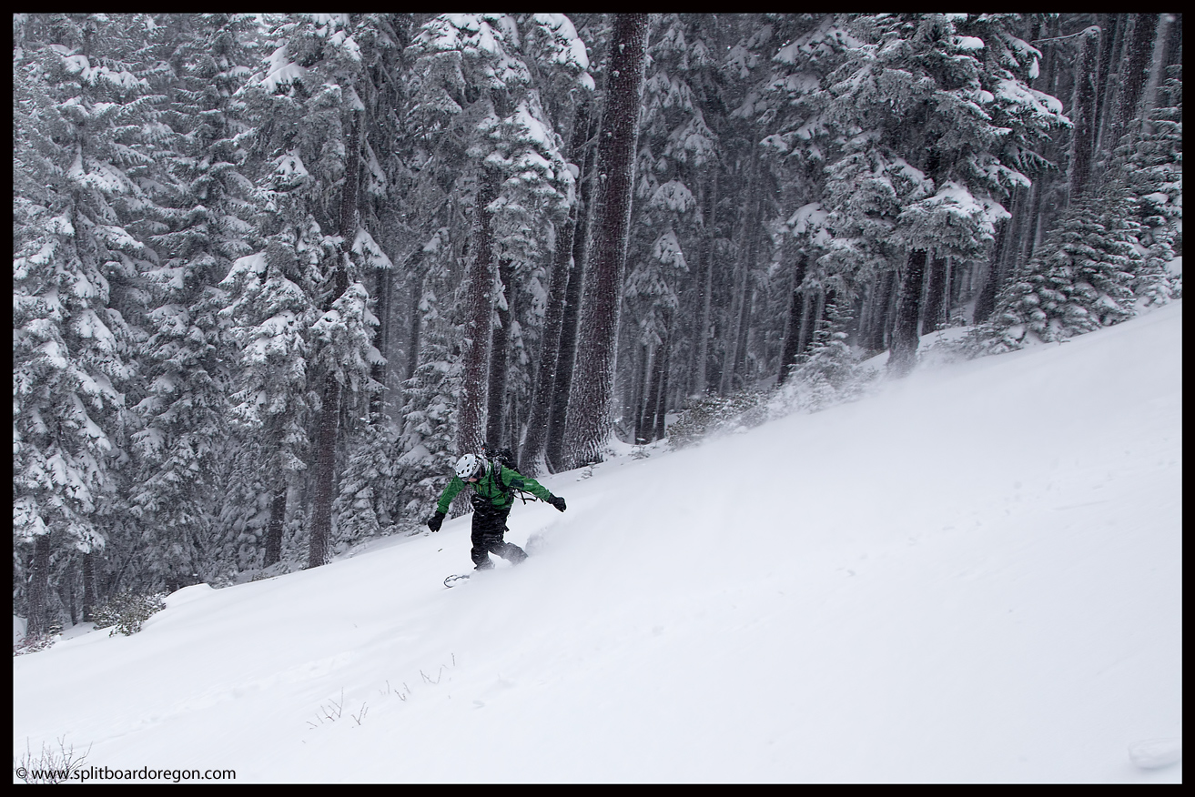 Scoring more powder turns