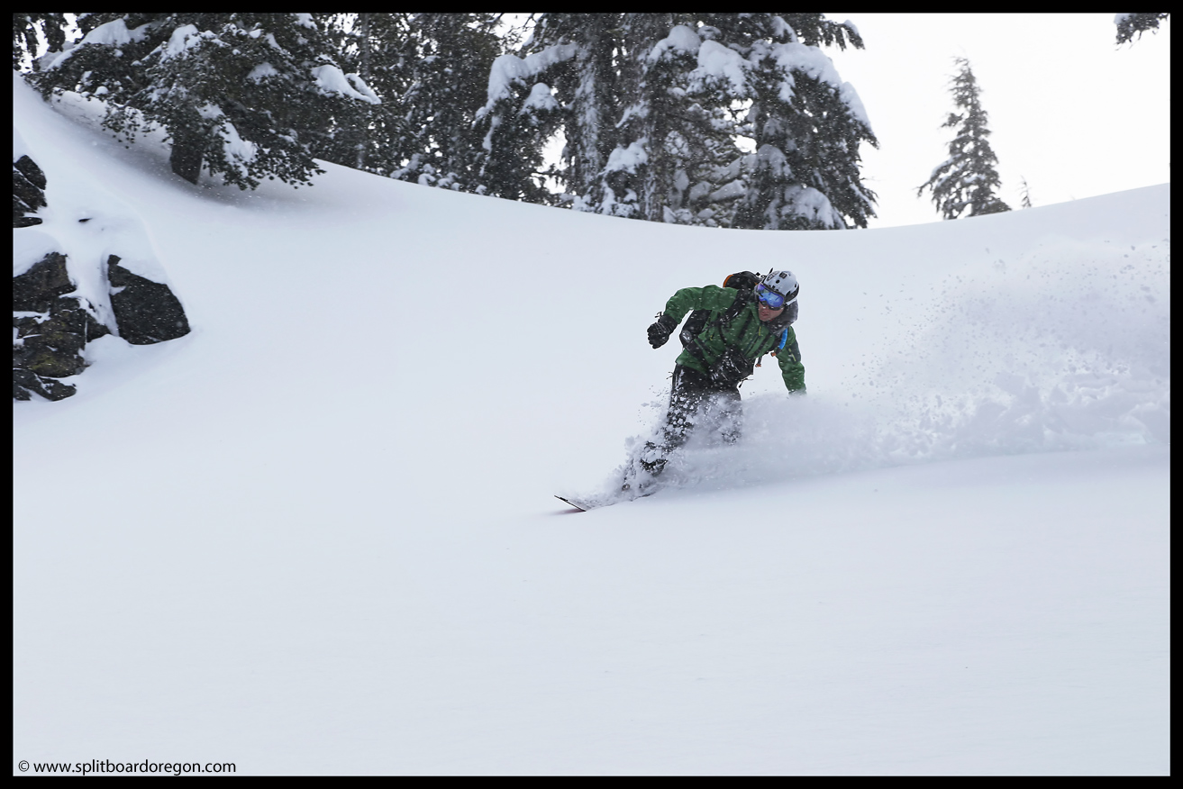 Another lap, more pow