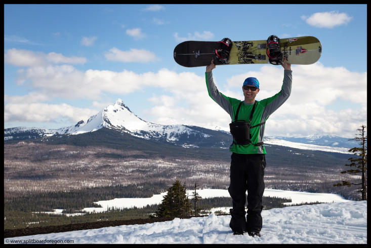 My Burton DIY Split and Mt Washington