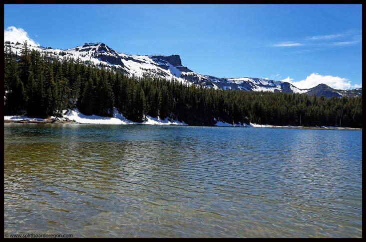 Three Creeks Lake