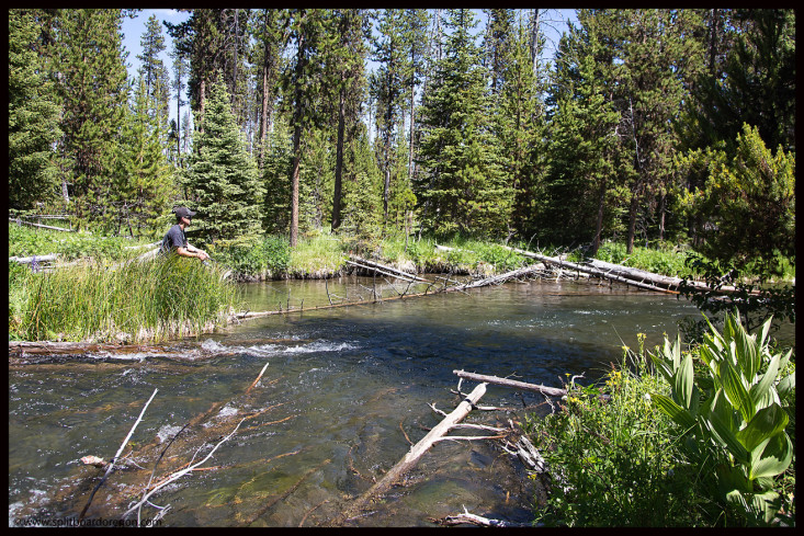 Fishing the upper Deschutes