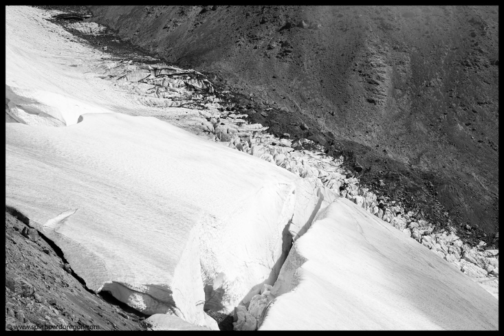 White River Glacier Abstract