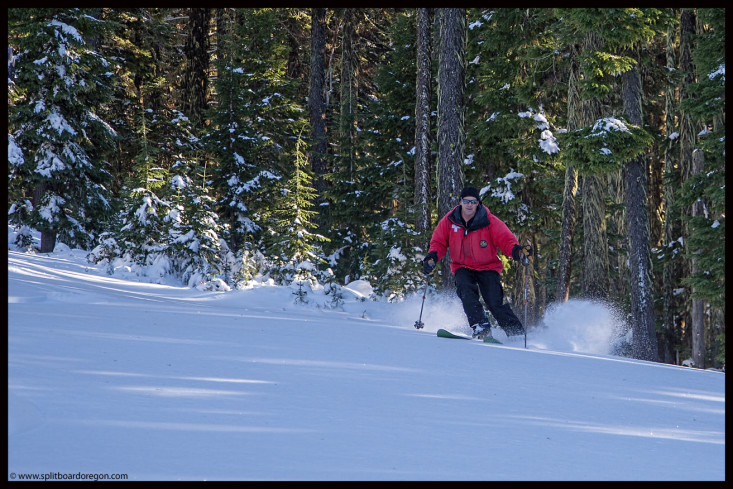 Powder on High Lead Glades