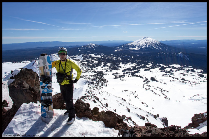 Looking over the Crater Bowl and beyond