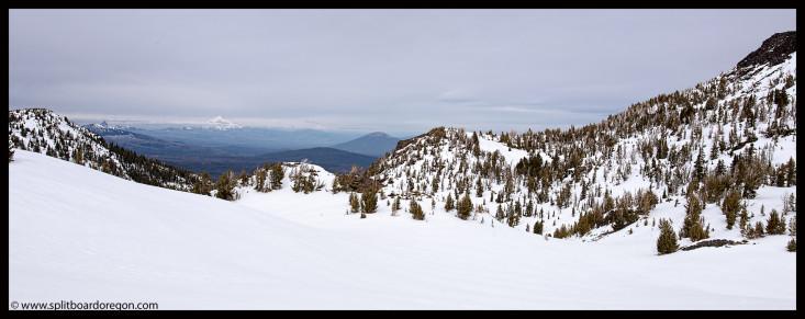 Snow Creek Pano