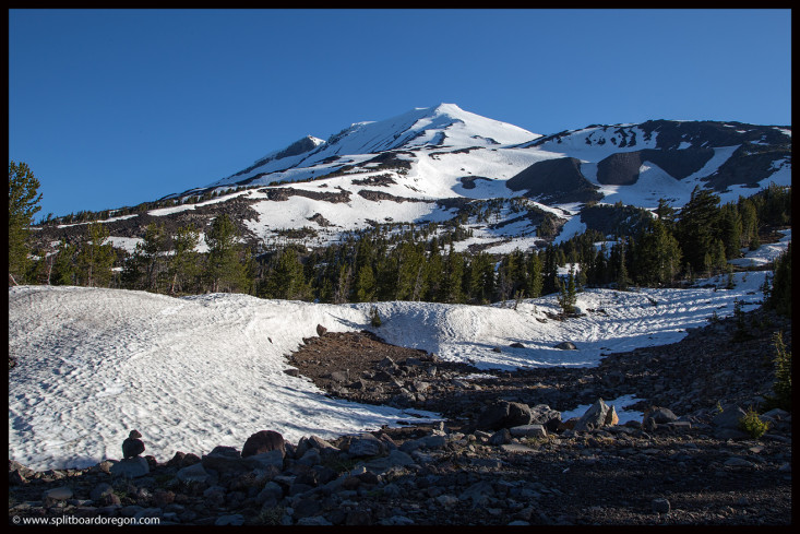 Mt Adams & the Crescent Glacier