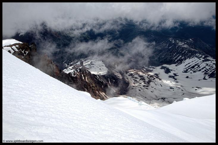 Mt Adam's Klickatat Glacier