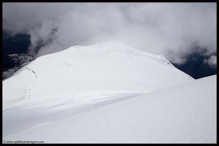 Looking back at Pikers Peak