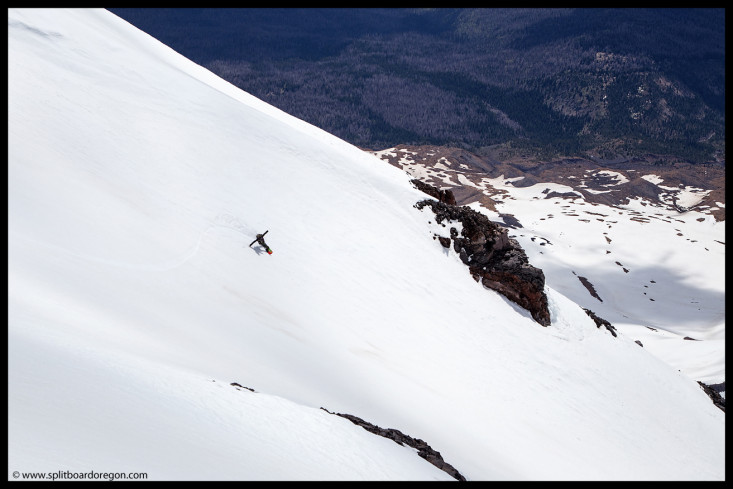Ripping the headwall